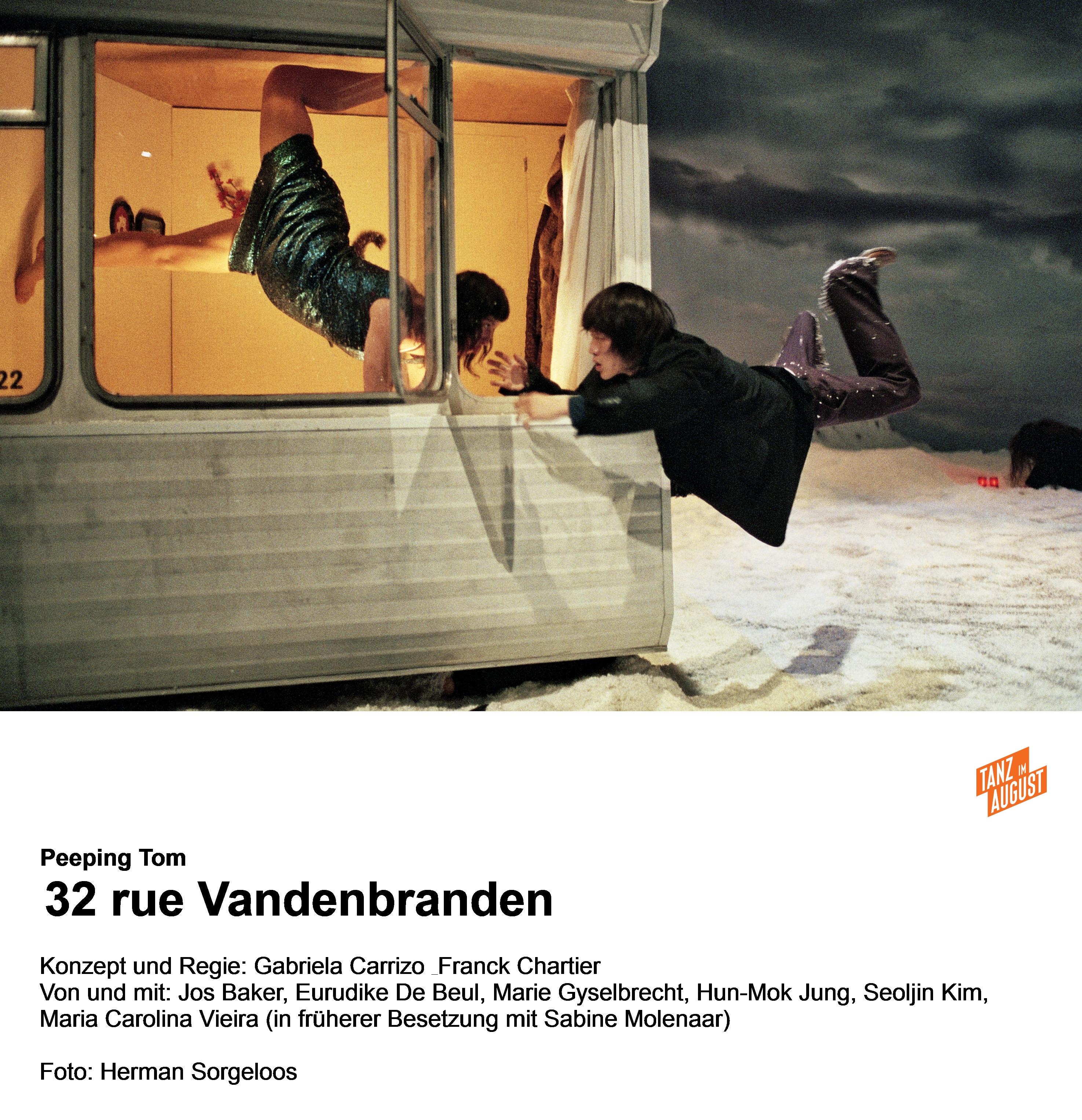 """Inspirationsquelle Hieronymus Bosch: Szene aus """"32, Rue Vandenbranden"""" von Peeping Tom"""