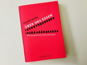 """Buchcover """"Über das Essen"""""""