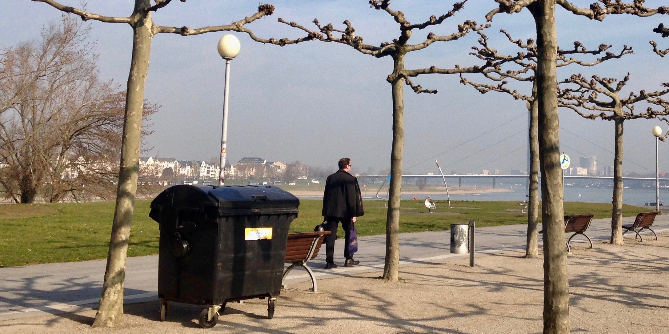 Live-Reportage Müllabfuhr