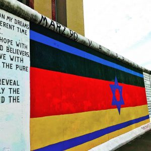 Interview Margaret Hunter: Berliner East Side Gallery