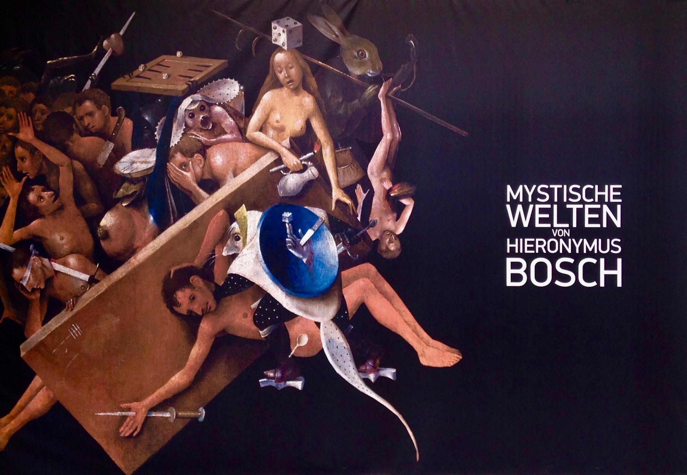 Multimedia-Ausstellungen: Plakat zu Bosch. VisionsAlive
