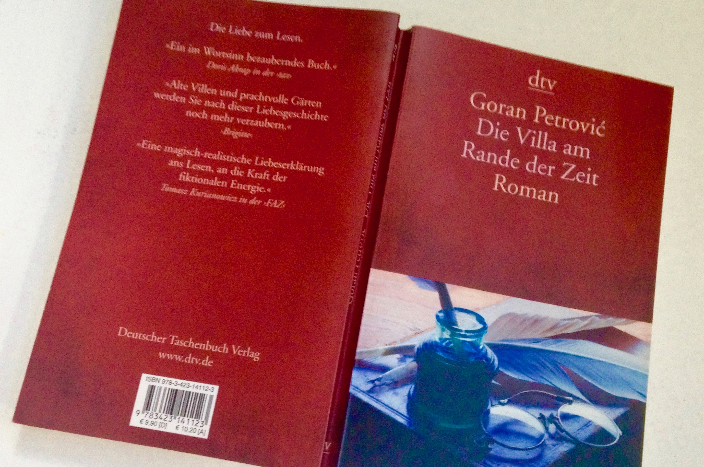 """Buchcover """"Die Villa am Rande der Zeit"""""""