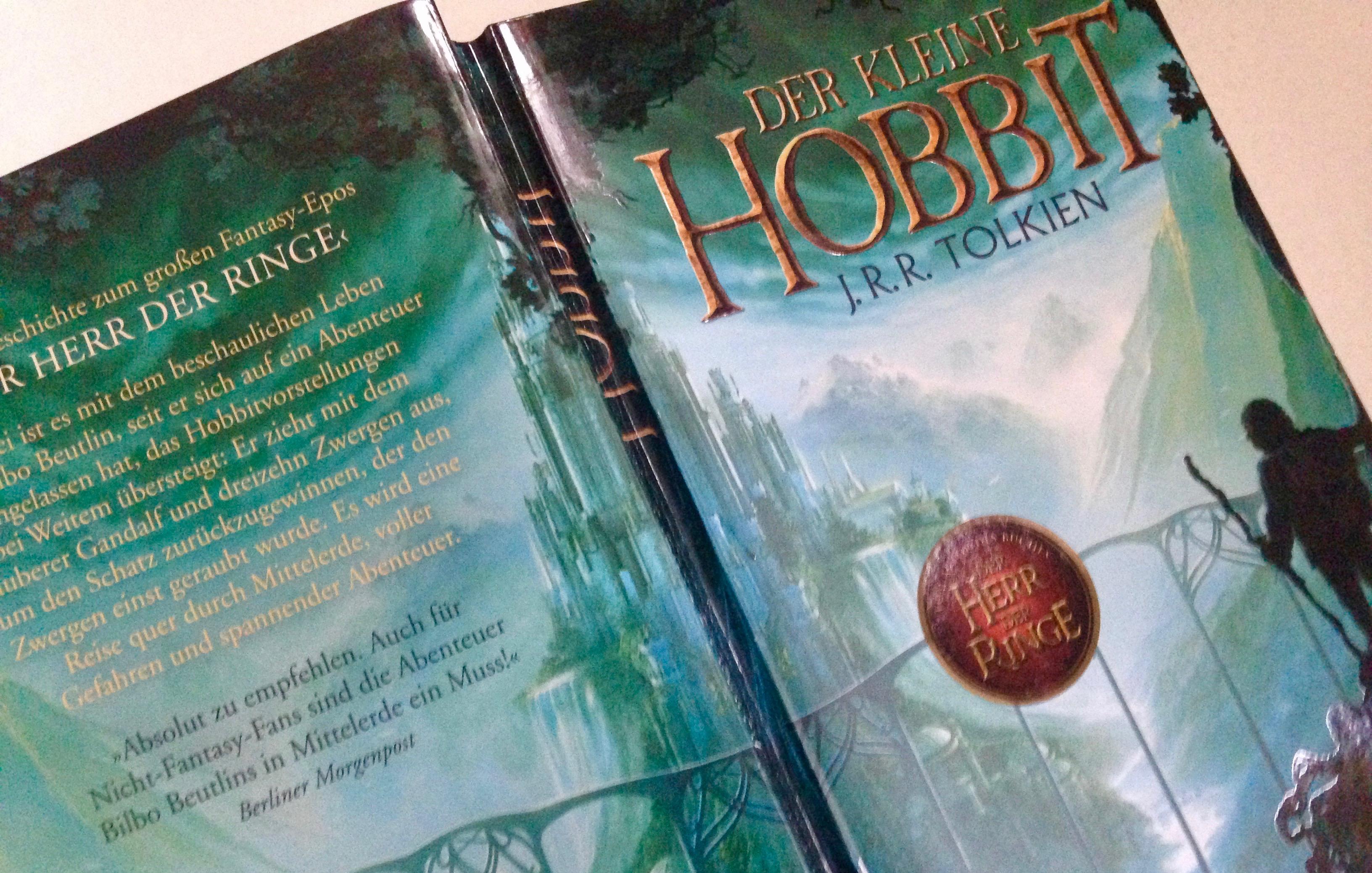 """Buchcover """"Der kleine Hobbit"""""""