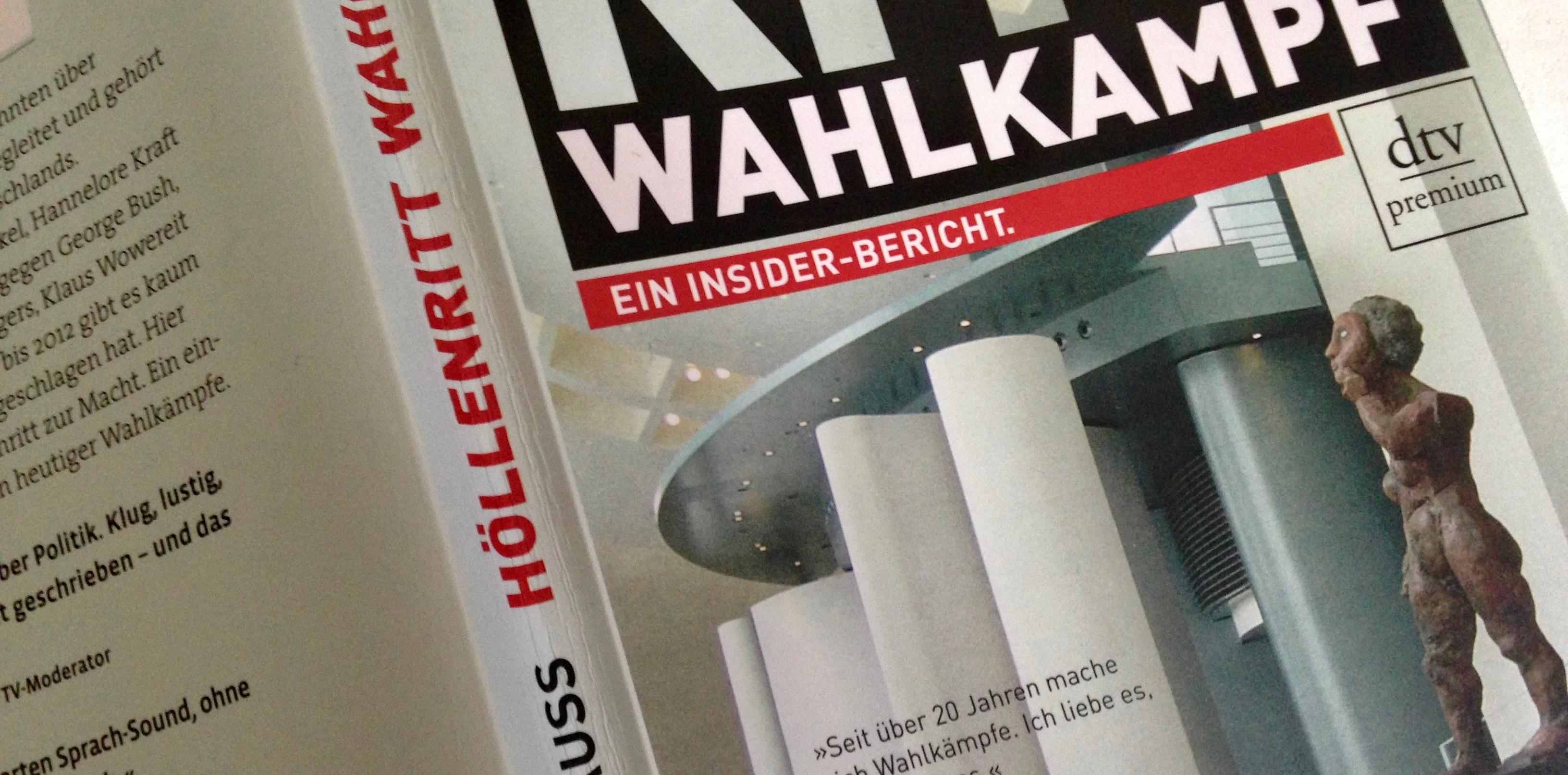 """Buchcover """"Höllenritt Wahlkampf"""""""
