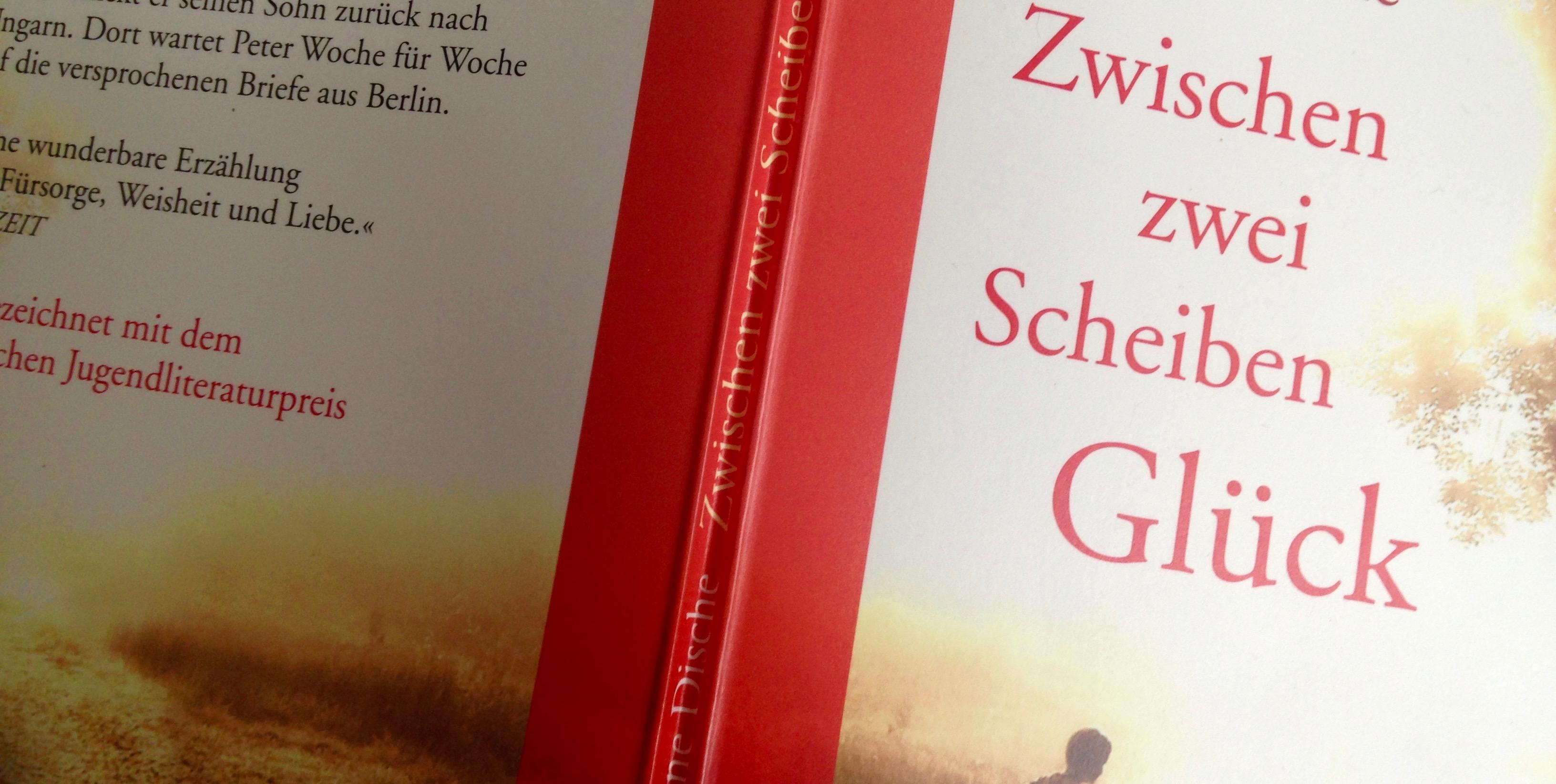 """Buchcover """"Zwischen zwei Scheiben Glück"""""""