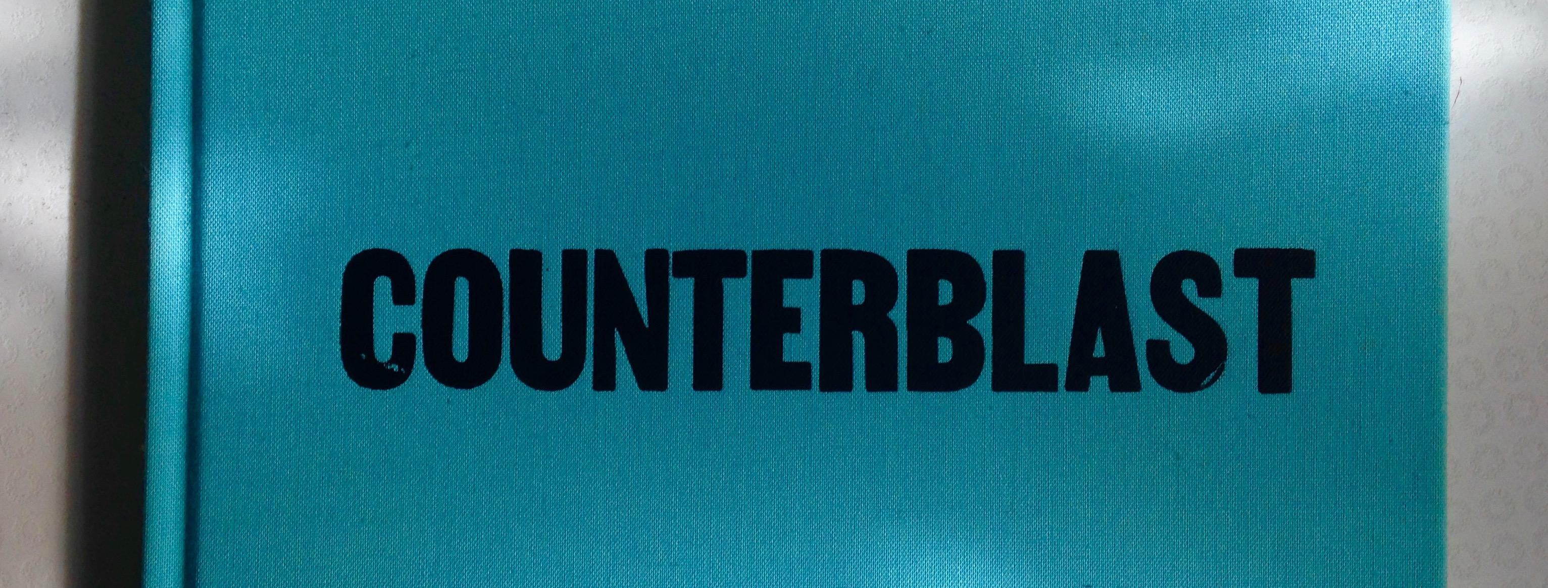 "Buchcover ""Counterblast"" von Marshall McLuhan"