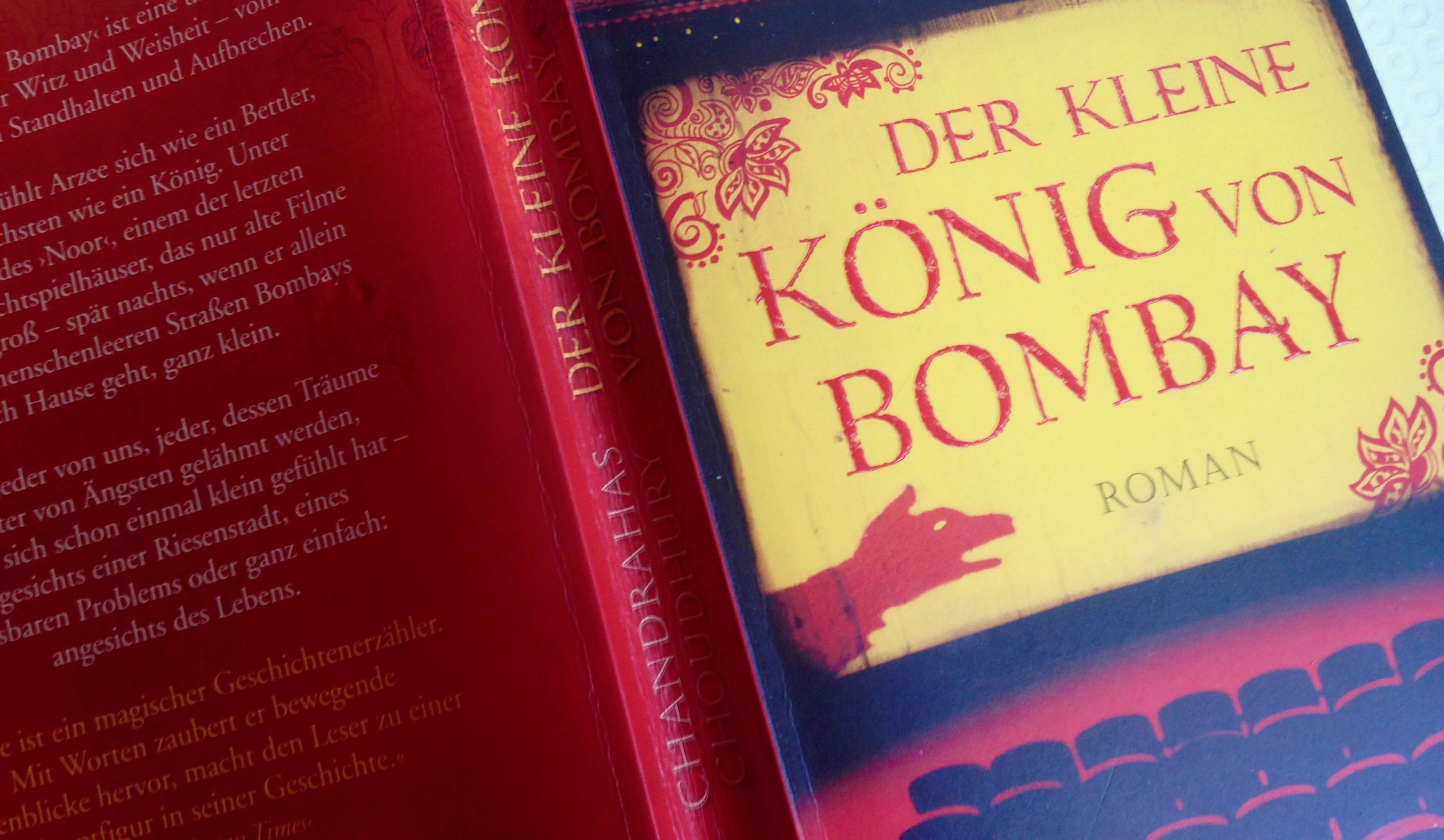 """Buchcover """"Der kleine König von Bombay"""""""