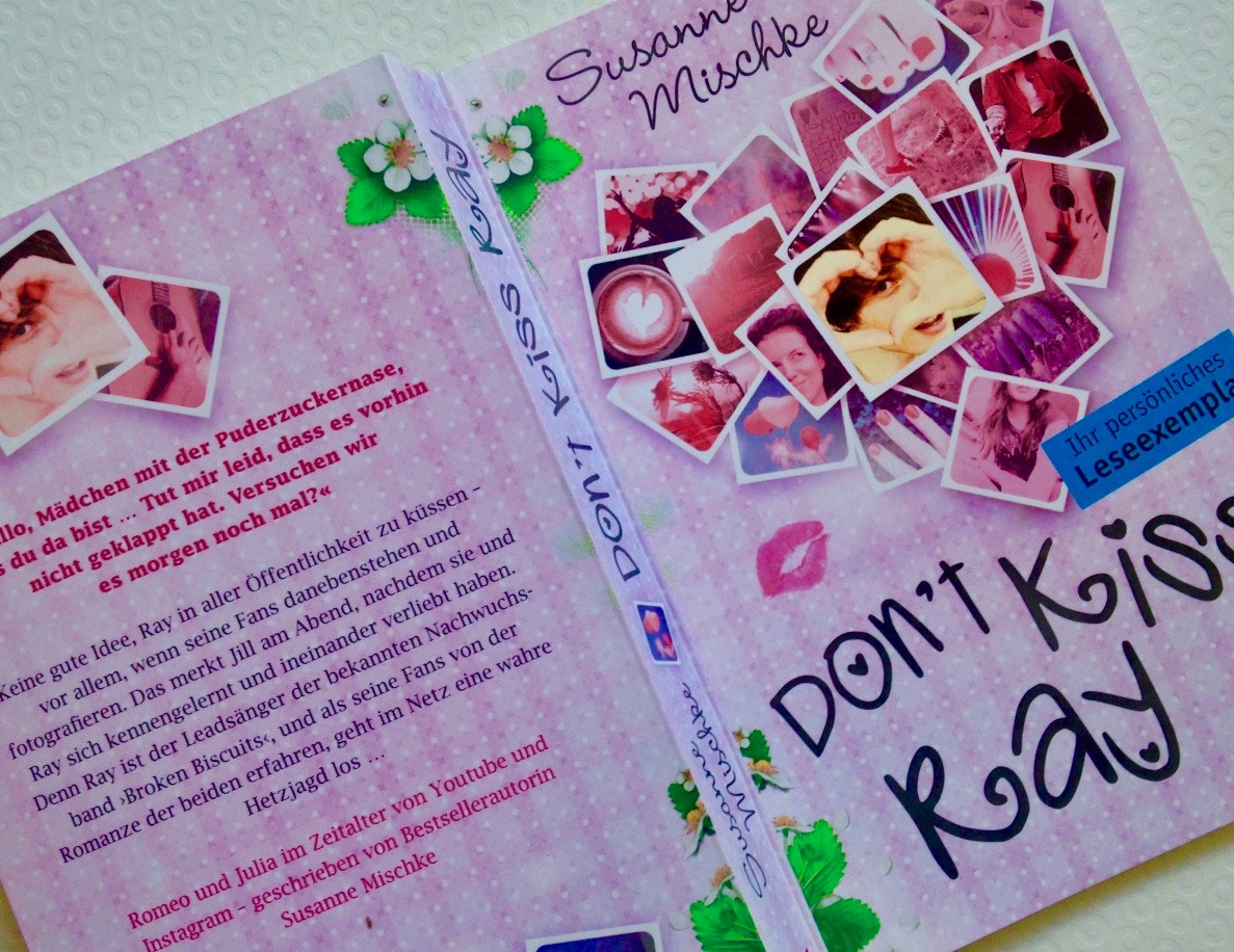 "Buchcover ""Don't Kiss Ray"""