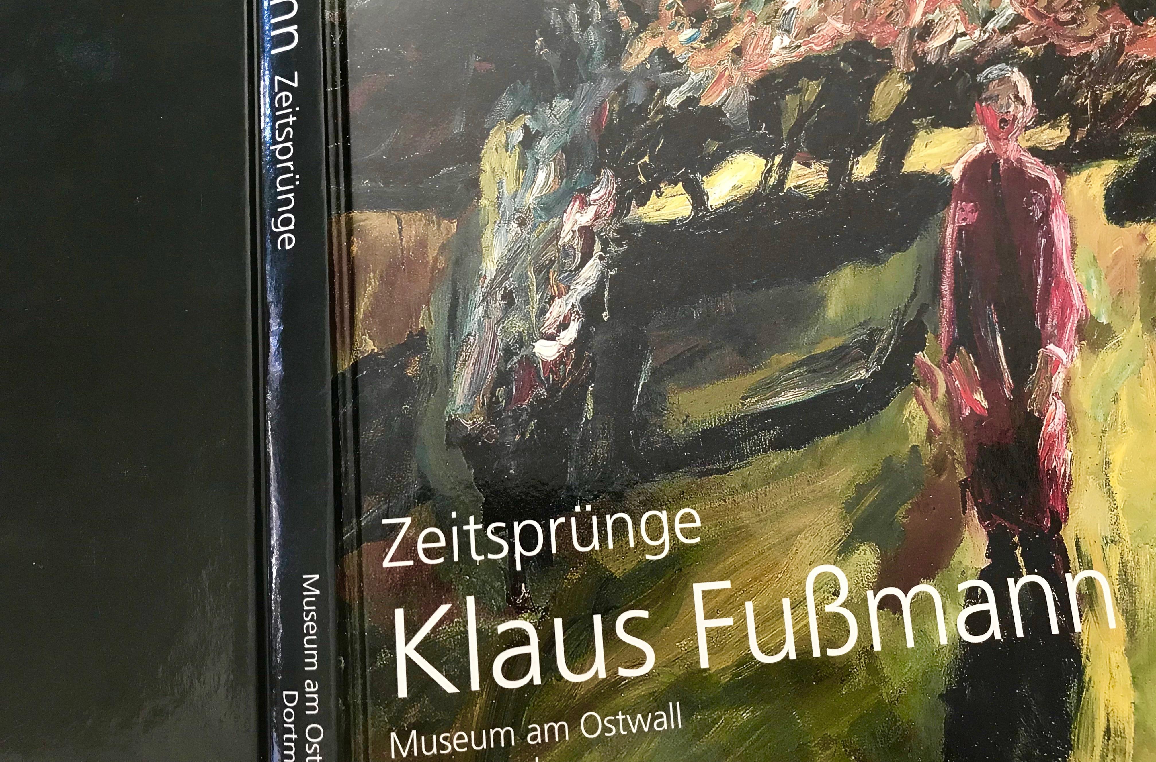 Zeitsprünge: Cover Katalog Klaus Fußmann