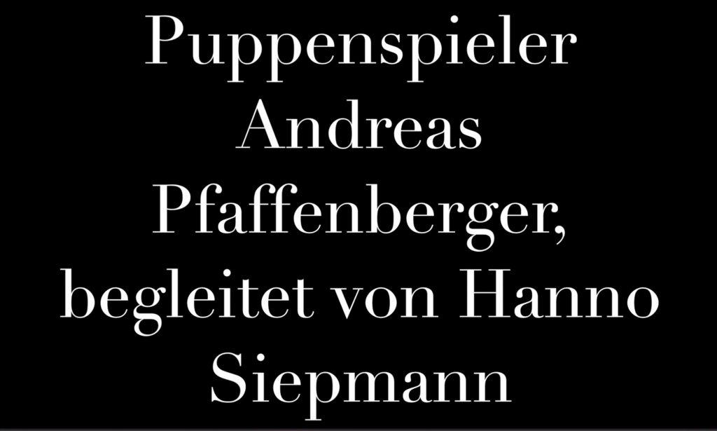 """Cover Warmup Andreas Pfaffenberger und Hanno Siepmann bei """"Der blaue Montag"""""""