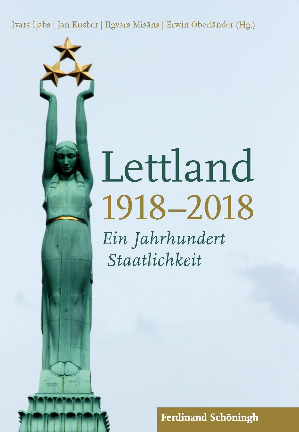 Buchcover Lettland 1918-2018. Ein Jahrhundert Staatlichkeit.