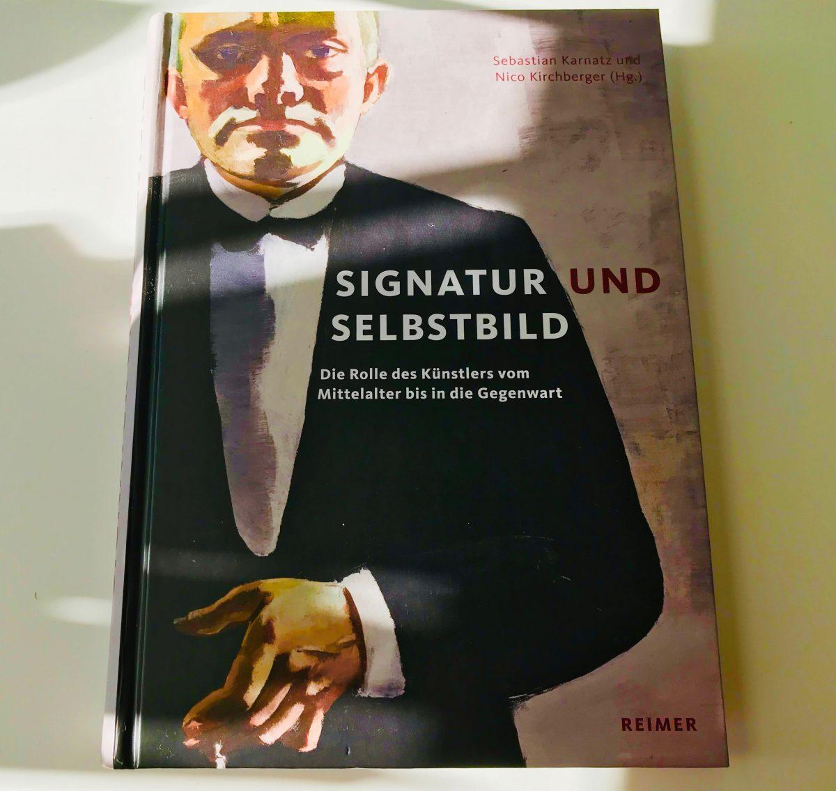 Buchcover Signatur und Selbstbild