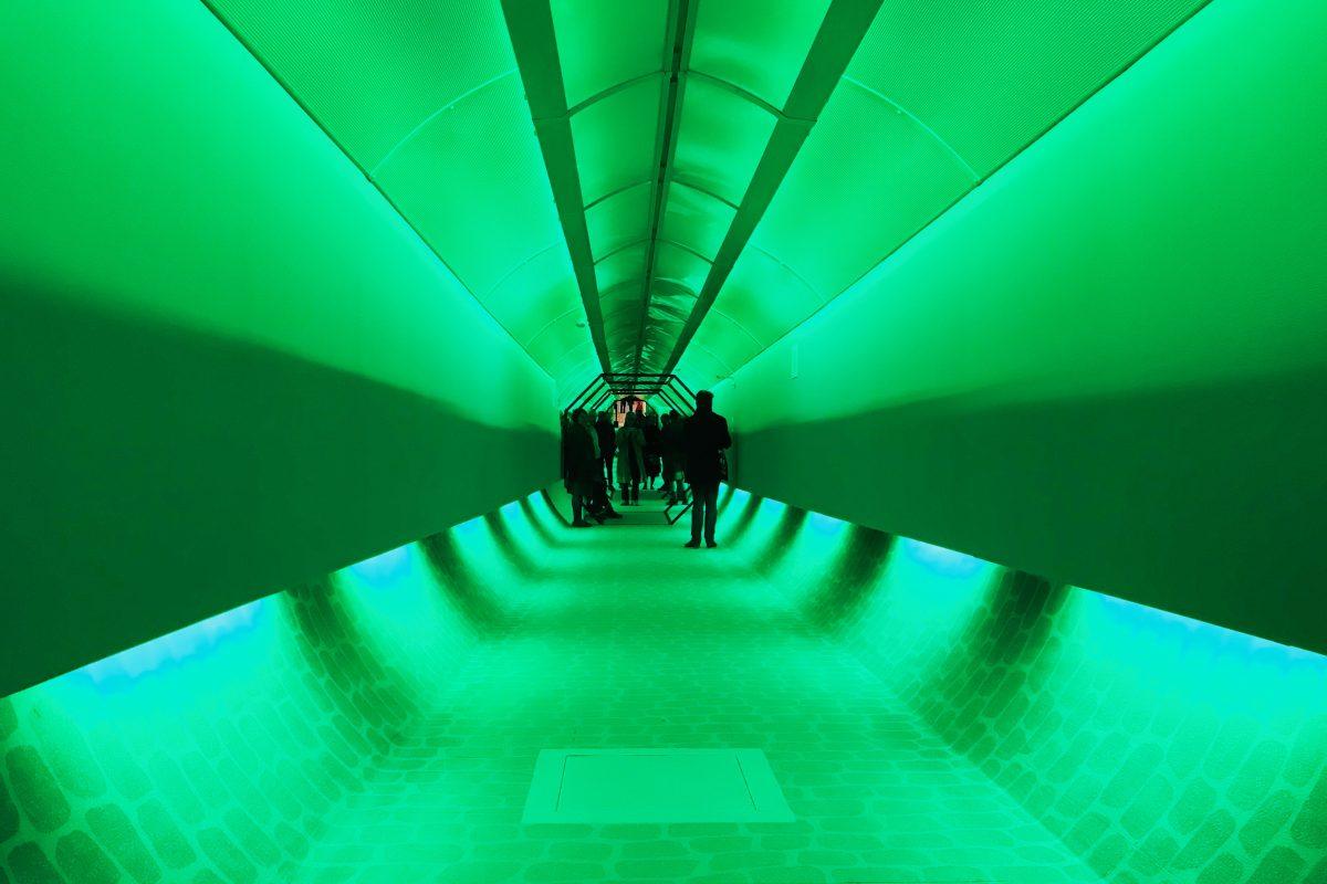 Das Ruhr Ding: Territorien: Gang durch den Ruhrtunnel in Essen