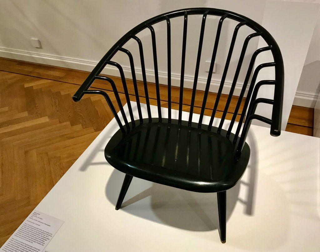 Stuhl aus der Ausstellung Nordic Design