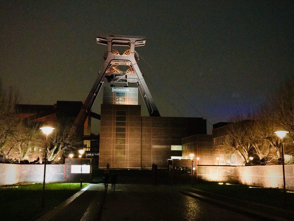 Außenansicht UNESO-Welterbe Zeche und Kokerei Zollverein