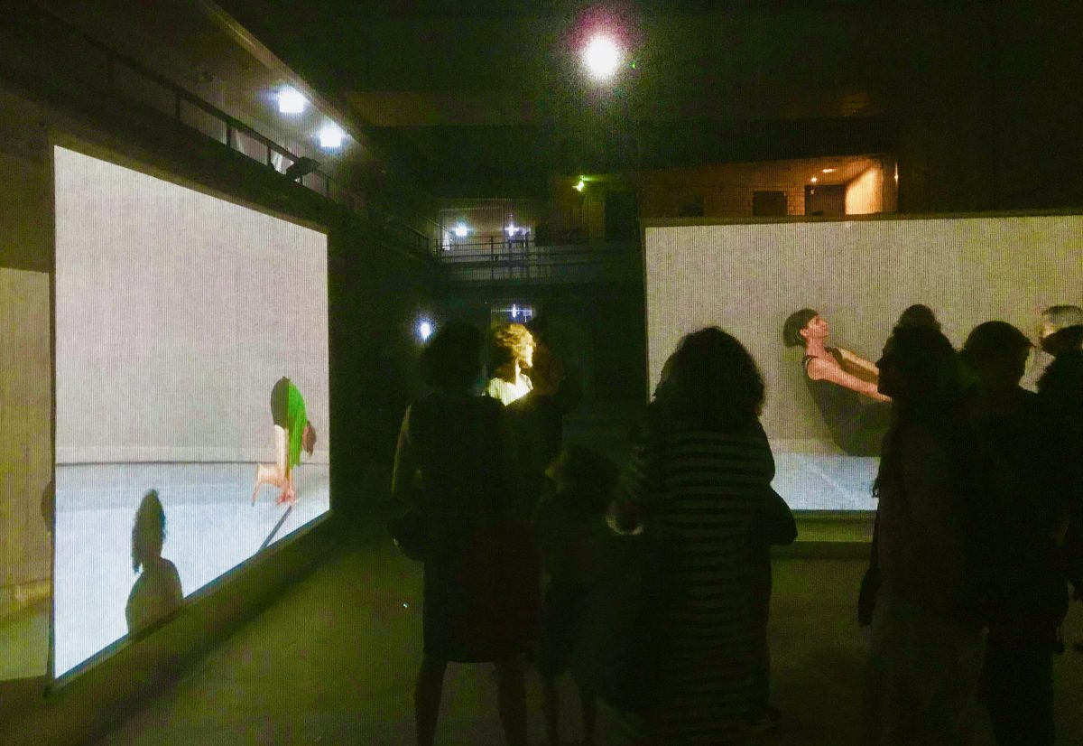 "Video-Installation ""Perception Unfolds: Looking at Deborah Hay's Dance"""