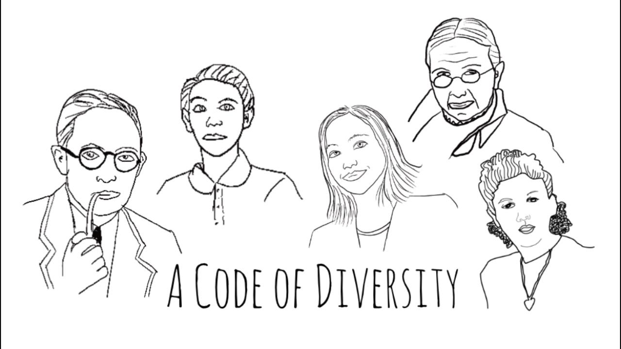 "Titelbild ""A Code of Diversity"""